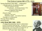the circle of james mill 1773 1836
