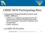 cmhc hch participating sites