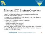 missouri dd system overview