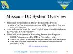 missouri dd system overview2