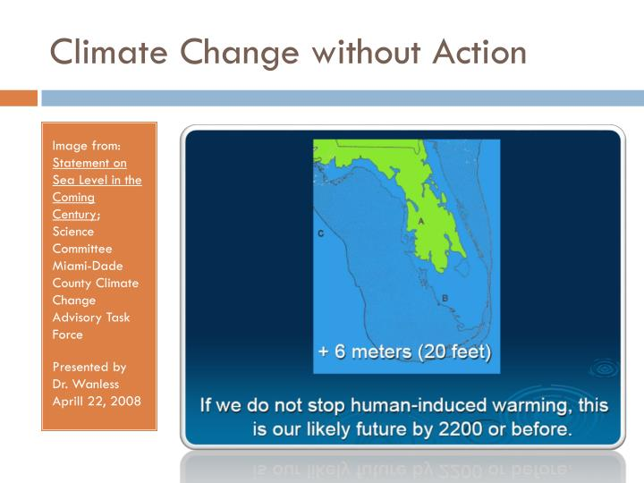 Climate Change without Action