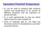 equivalent potential temperature1