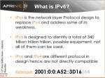 w hat is ipv6