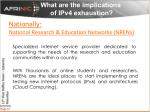 what are the implications of ipv4 exhaustion8