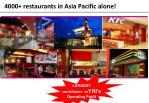 4000 restaurants in asia pacific alone