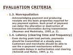 evaluation criteria2