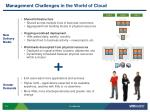 management challenges in the world of cloud
