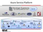 azure service platform1