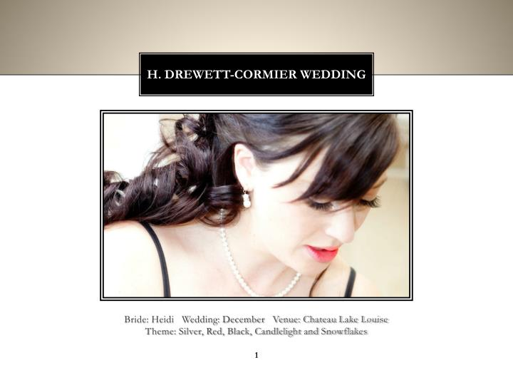 h drewett cormier wedding n.