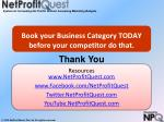 book your business category today before your competitor do that