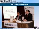 npq press conference