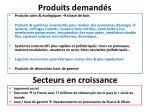 produits demand s