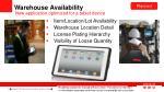 warehouse availability