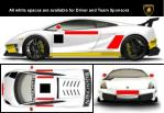 all white spaces are available for driver and team sponsors