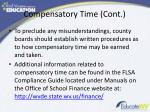 compensatory time cont2