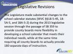 legislative revisions