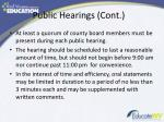 public hearings cont1