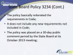 state board policy 3234 cont1