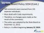 state board policy 3234 cont2