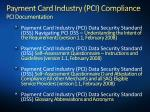 payment card industry pci compliance pci documentation