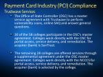 payment card industry pci compliance trustwave services