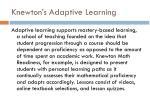 knewton s adaptive learning