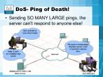 dos ping of death