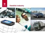 swedish industry