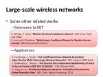 large scale wireless networks8