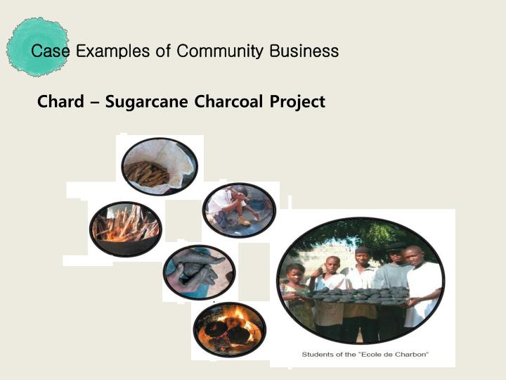 Case Examples of Community Business
