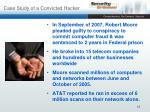 case study of a convicted hacker