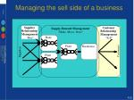 managing the sell side of a business