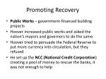 promoting recovery
