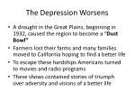 the depression worsens1