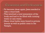cleanness and uncleanness2