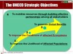 the unccd strategic objectives
