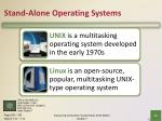 stand alone operating systems4