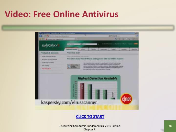 Video: Free Online Antivirus