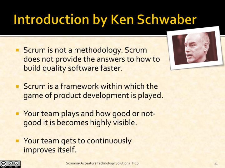 Introduction by Ken Schwaber
