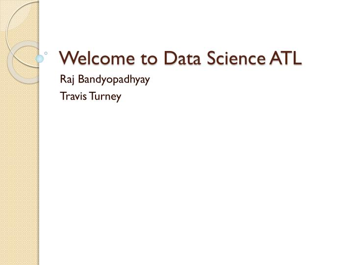 welcome to data science atl n.