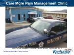 care more pain management clinic