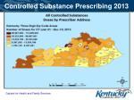 controlled substance prescribing 2013