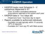 kasper operation