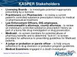 kasper stakeholders