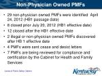 non physician owned pmfs