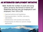 ak integrated employment initiative
