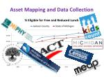 asset mapping and data collection