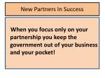 new partners in success4