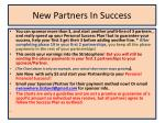 new partners in success8