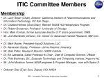 itic committee members